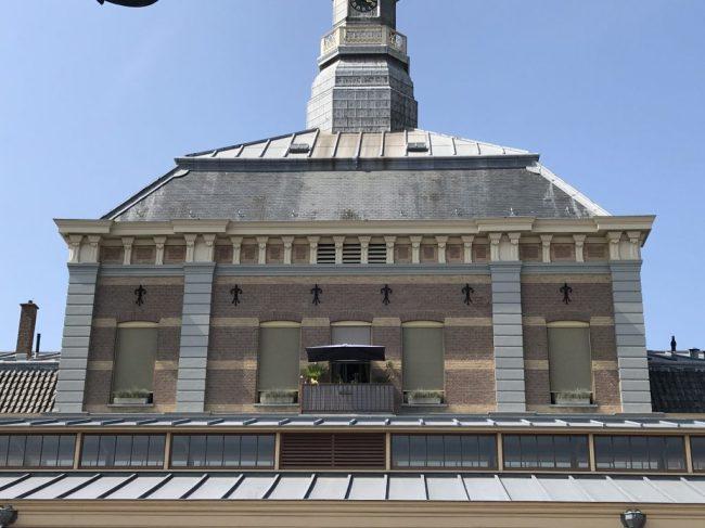 Het appartement van Prinses Christina bevindt zich boven de Koninklijke Stallen aan de achterzijde van Paleis Noordeinde (foto Royal Insider)
