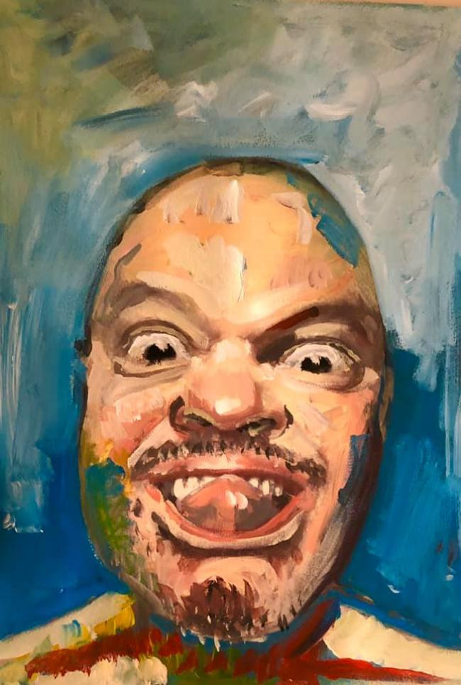 Peter Klashorst - Self Portrait (2)