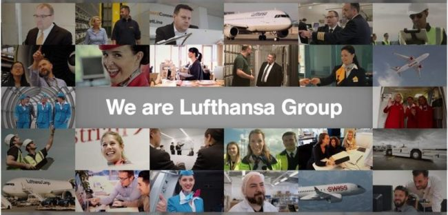 We are Lufthansa Group (foto Mopportunities)