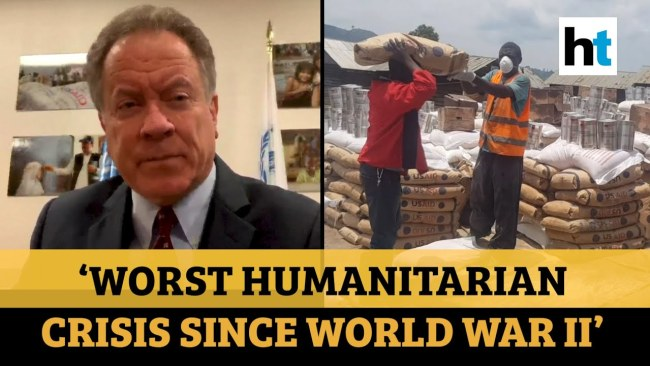 Worst humanitarian crises since WWII (foto YouTube)