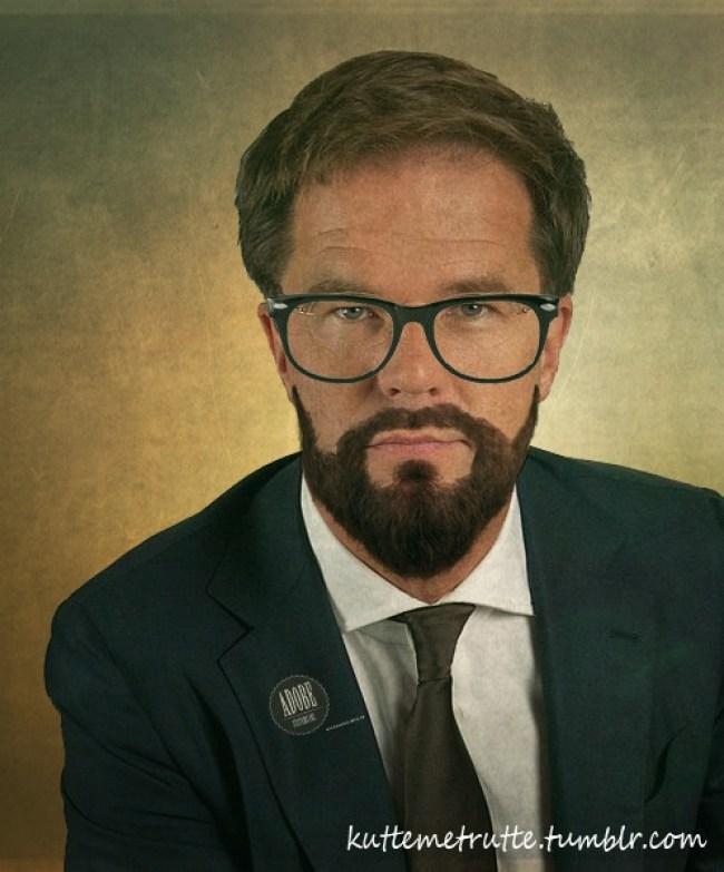 Hipster Rutte (foto kuttemetrutte)
