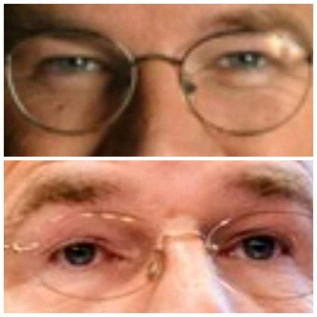 Na tien jaar verouderden de ogen van Mark Rutte (foto Twitter)