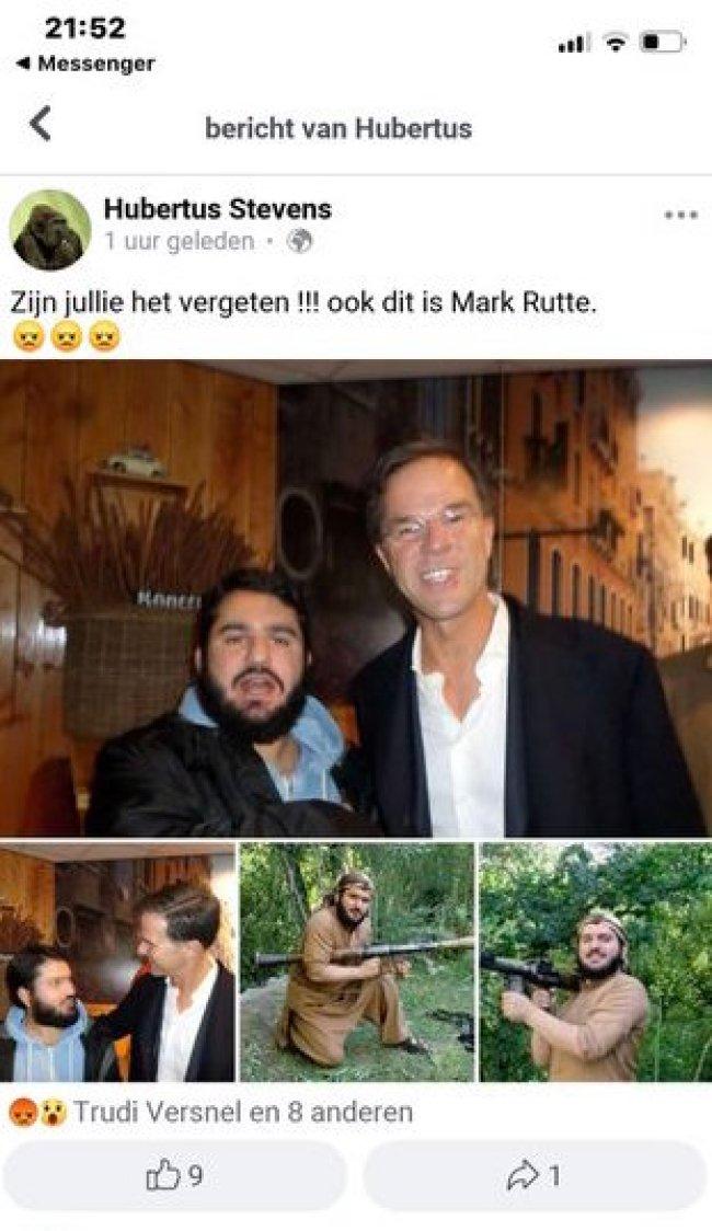 Ook dit is Mark Rutte (foto Twitter)