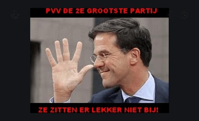 PVV 2e grootste partij (foto EUnmask))