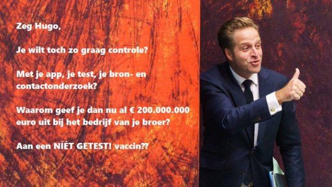 Zeg Hugo (foto Twitter)