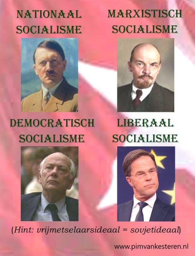 Vrijmetselaarsideaal = sovjetideaal (foto Twitter)