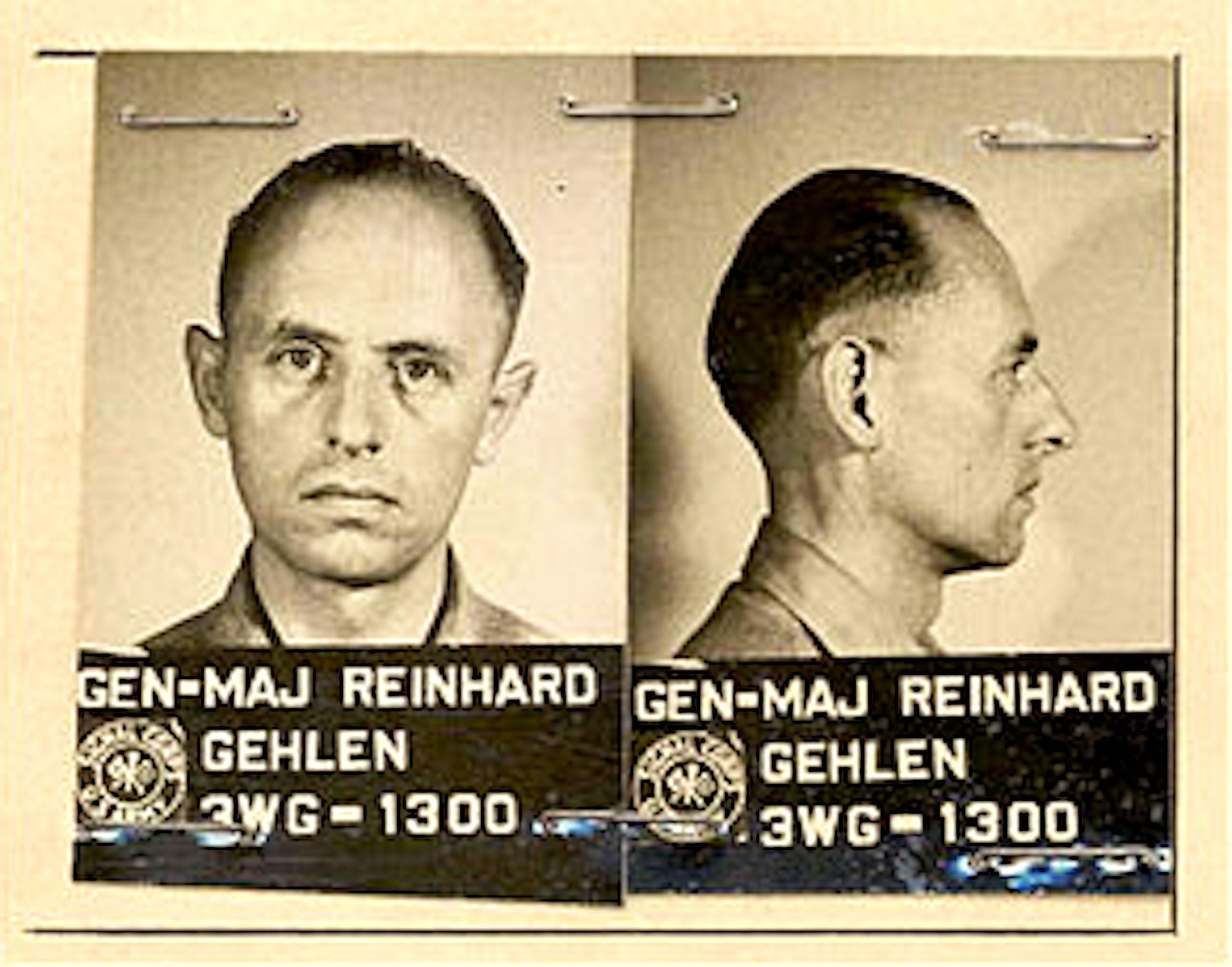 Reinhard Gehlen 1945 (foto Wikipedia)