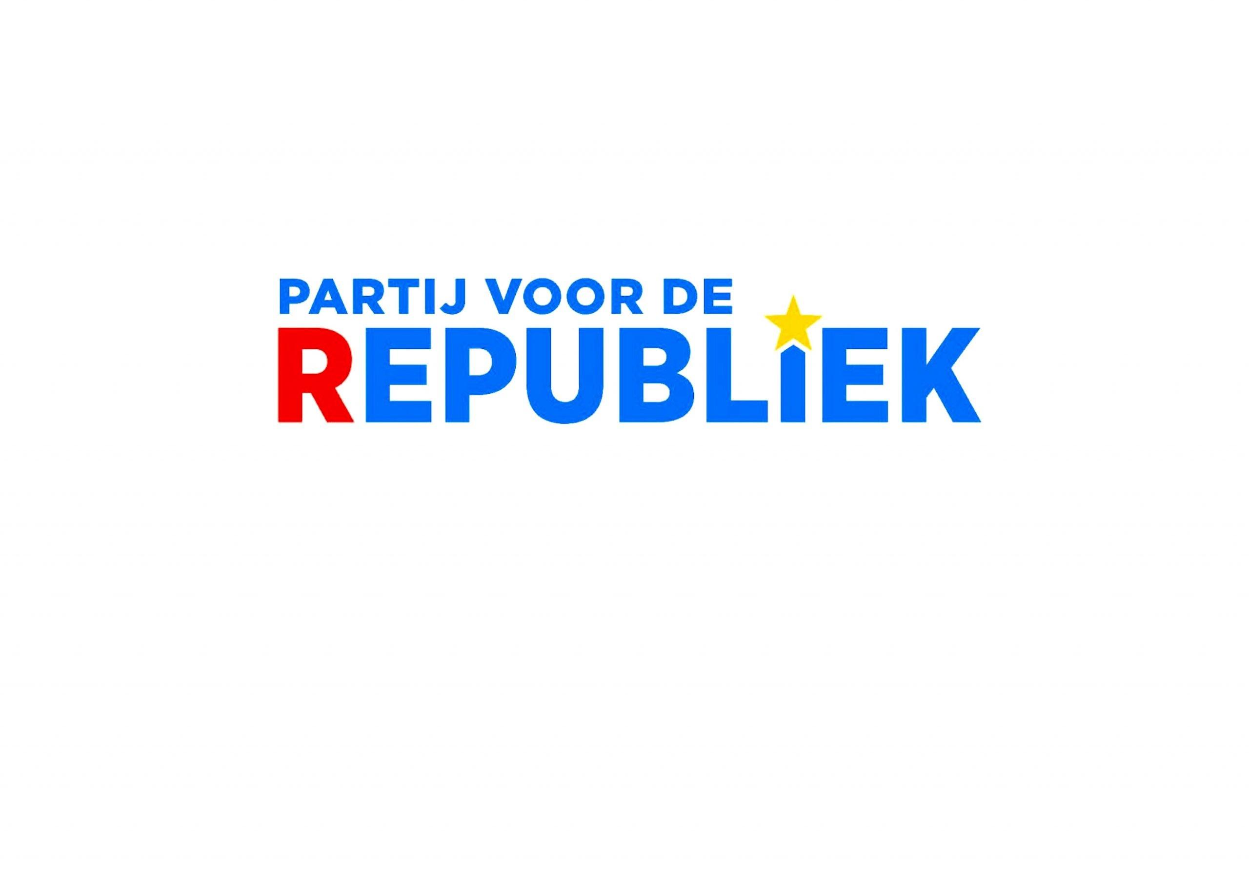 Partij voor de Republiek Logo (foto republiek.eu)