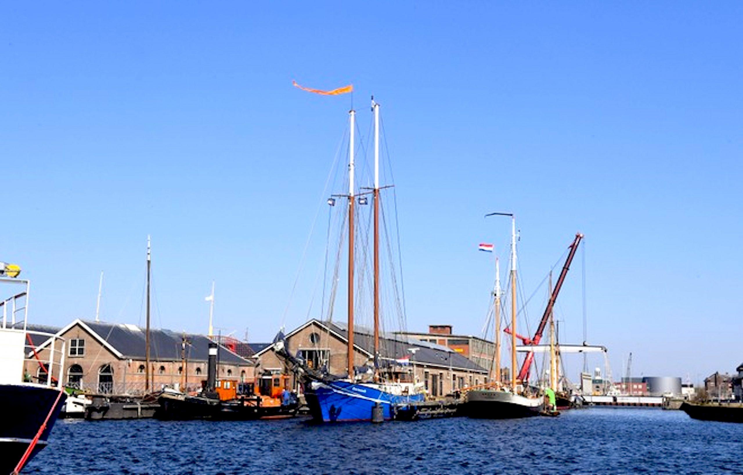 De Helderse Museumhaven (foto George Stoekenbroek
