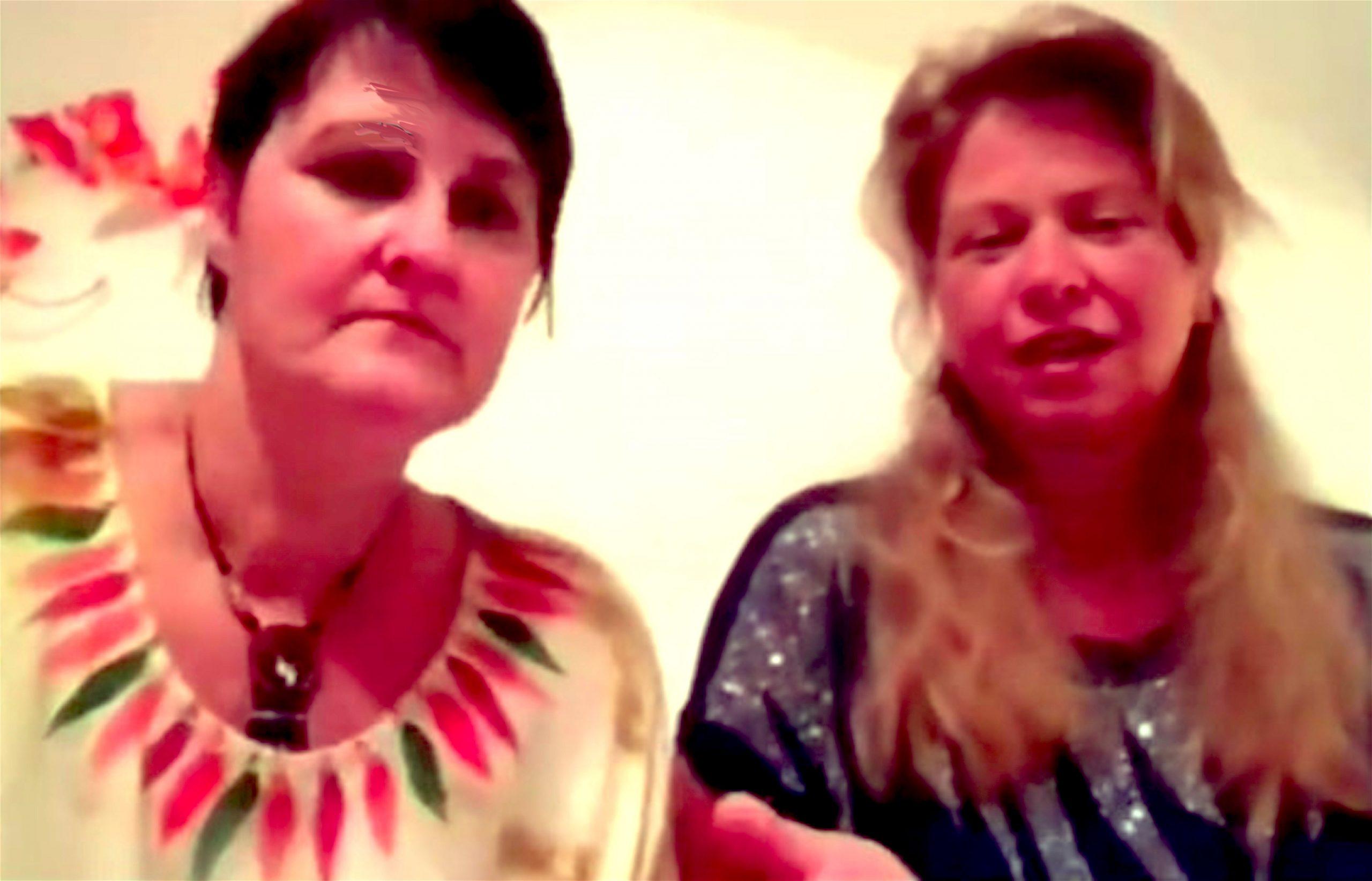 Janet Ossebaard & Cyntha Koeter (foto BitChute)