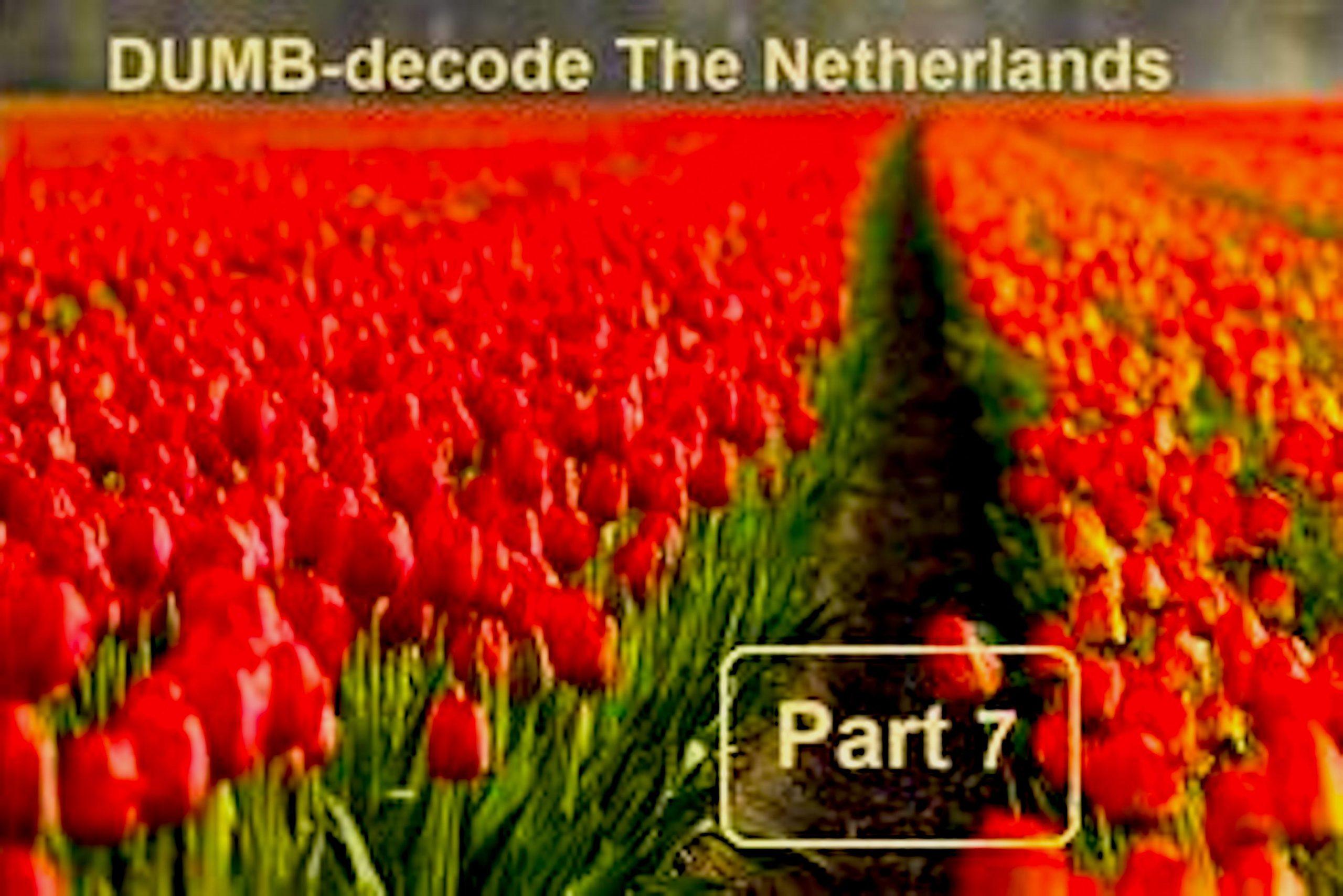 Gene Decode! The Netherlands Underground Bases (7) Update (foto BitChute)