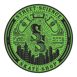 Street Science Skate Shop Logo