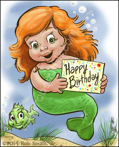 2014-0711-SwampysBirthdayCards-Mermaid