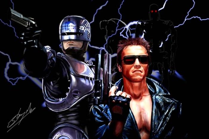 Robocop e Exterminador do Futuro