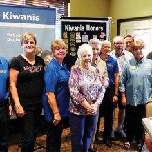 The new Kiwanis Board of Directors.