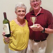 And the winners are Bill and Joyce Marshall!