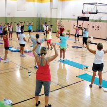 Bye-bye ho hum workouts; boot campers pushing it to the max