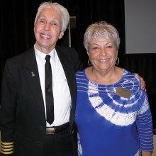 Wally Funk and RRWC President Darla Mahan