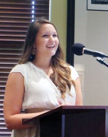 Hannah Powell received a degree in Kinesiology.
