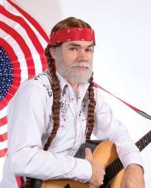 """Keith Allynn in """"Not Really Willie"""""""