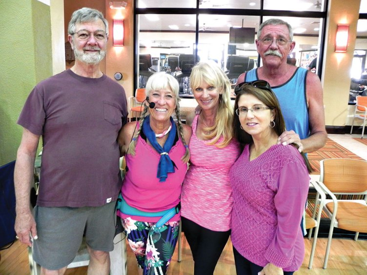 Boot Camp staff, left to right: Wayne D., Barbara S., Bonnie F., Kathy H., Mike S.
