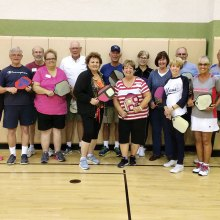 April Pickleball Academy graduates