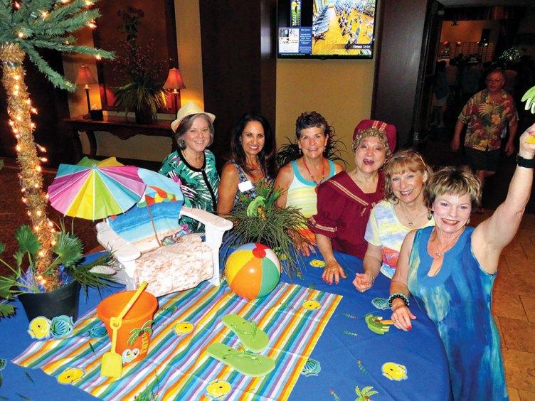 "The ""sand-sational"" Dance Club hosts"