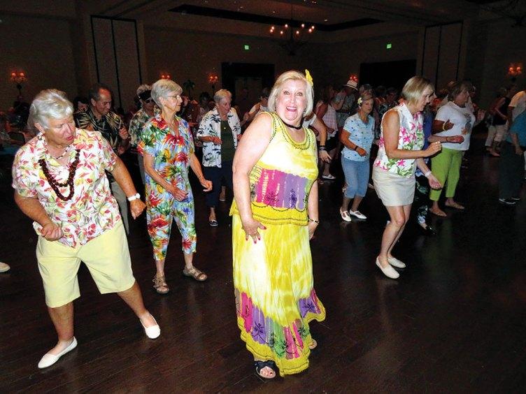 Kathy Escamilla makin' a big splash on the dance floor