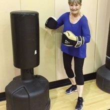 Carol Rogers, this month's celebrated volunteer