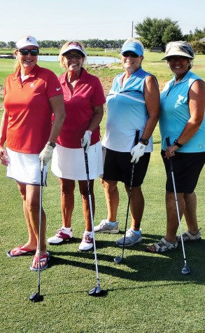 Connie Griswold, Lea Ann Kitby, Barb Bennett, and Jeannie Martinez