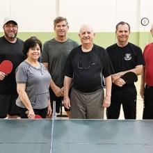 Grapevine Table Tennis Club Team