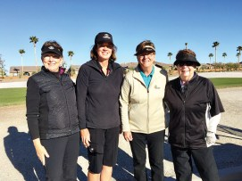 Foursome from four different clubs