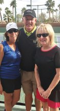 Barb Sewell, Tom Harris and Linda Gayer