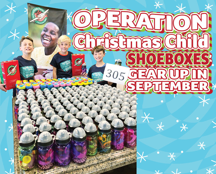 Operation Christmas Child 2019 Dates.Operation Christmas Child Shoeboxes Gear Up In September