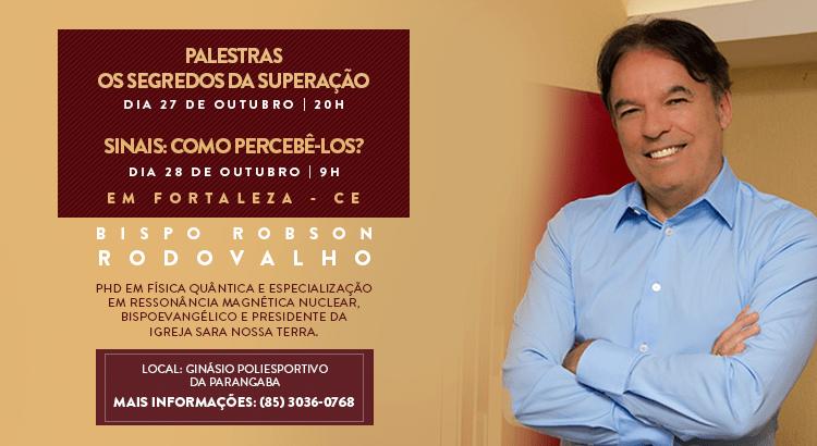 Bispo Rodovalho ministra palestras em Fortaleza