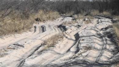 Sand road 1