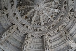The domed ceilings
