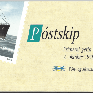 SG 777-80 Booklet. Unmounted Mint. Iceland