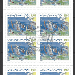 SG 3974, the booklet, French Stamps
