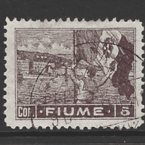 SG 68, Fiume Stamps