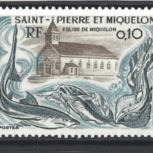 SG 531-3, Unmounted Mint, St Pierre et Miquelon Stamps