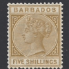 SG 103. Barbados Stamps