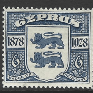 SG 128. Mounted Mint. Cyprus Stamps