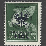 SG 89. Mounted Mint. german occupation stamps