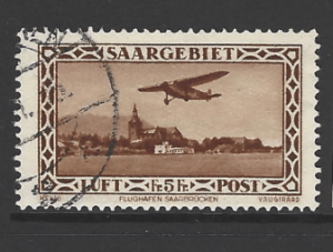 SG 158. Germany SAAR
