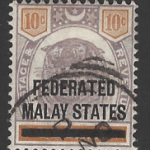Federated Malay States, SG 10,