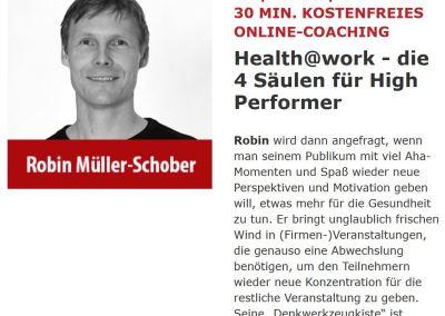 +++ NEWSFLASH +++ LIVE IMPULSVORTRAG +++ Freitag   22.01.21   11:00 Uhr   kostenfrei   Speakers-Excellence.de