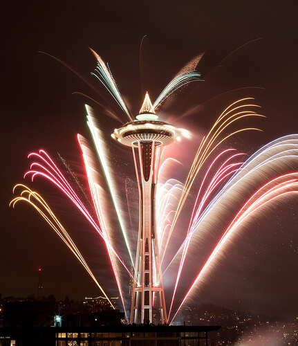 Seattle-new-year-fireworks