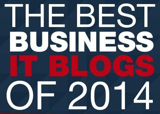 RobTiffany.com Named One of the Best Business IT Blogs of 2014
