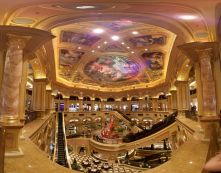 "This image is a great example of what you can do with the ""Photo Sphere"" feature on a Google Nexus 4 phone. This is inside the Venetian casino in Macau."